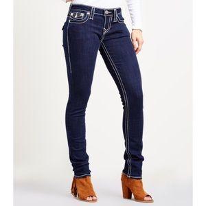 True Religion Skinny Dark Wash Jeans